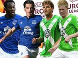 Everton vs VfL Wolfsburg UEFA Europa League LIVE: Follow the action as it happens