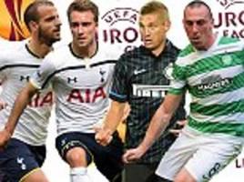 Partizan Belgrade vs Tottenham UEFA Europa League LIVE: Plus all the action from Celtic's trip to Salzburg