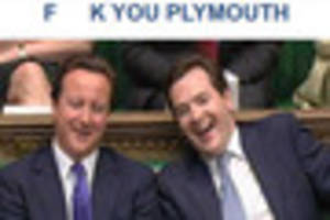 Twitter spat after Plymouth Conservative account posts 'F*** you...